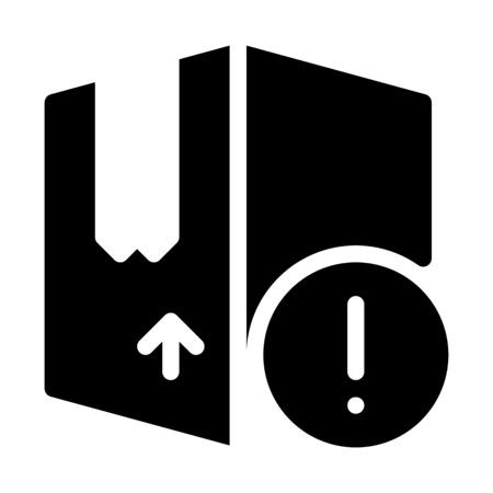 Box Alert Notification Illusztráció