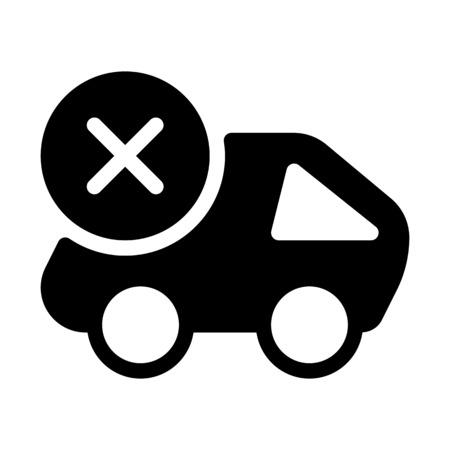 Cancel Cargo Delivery Illustration