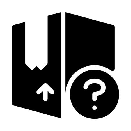 Box Delivery Help Иллюстрация