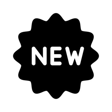New product sticker 向量圖像