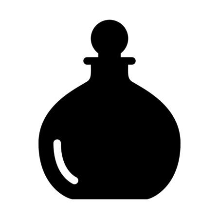 Exotic Perfume Bottle Illustration