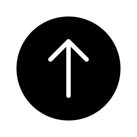 Up arrow direction