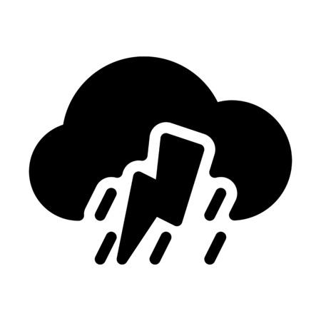 Shower with thunderbolt Çizim