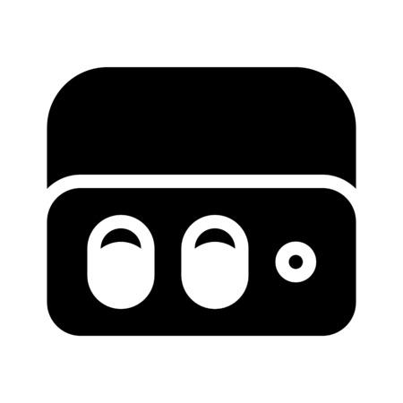 Music Amplifier Device Illustration