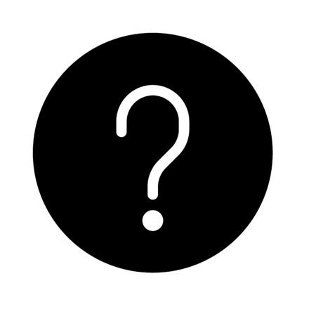 Question mark symbol Vetores