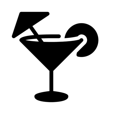 cocktail illustration Stock Illustratie