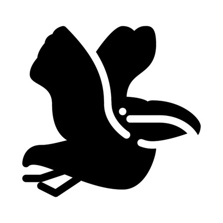 Pelican Tropical Bird Ilustração