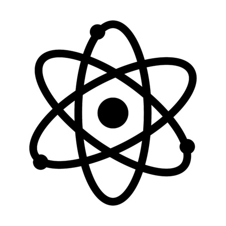 Atom Particle Nucleus Stok Fotoğraf - 115434135