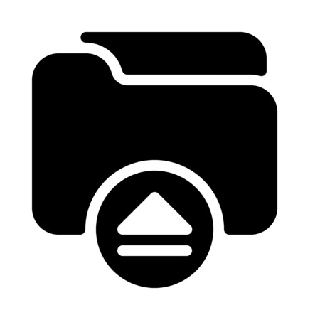 Load or Eject Folder
