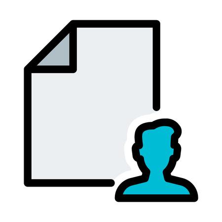 User File Format Stock Illustratie