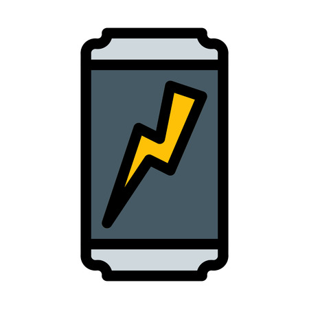 Energy drink can Illustration