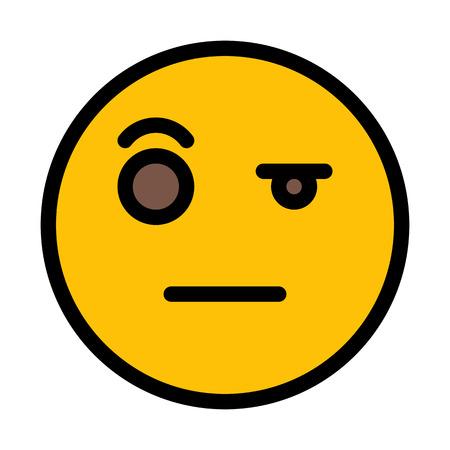Wondering Expression Emoticon