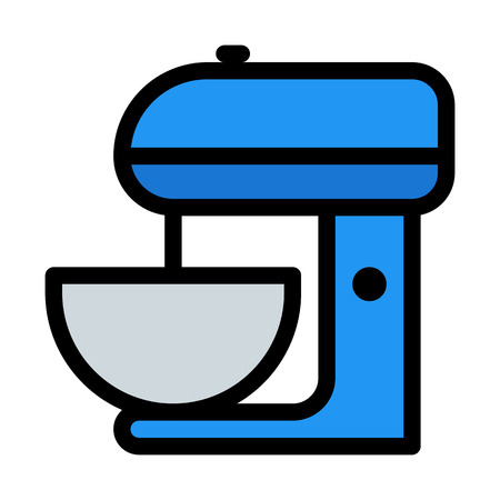 stand mixer Illustration