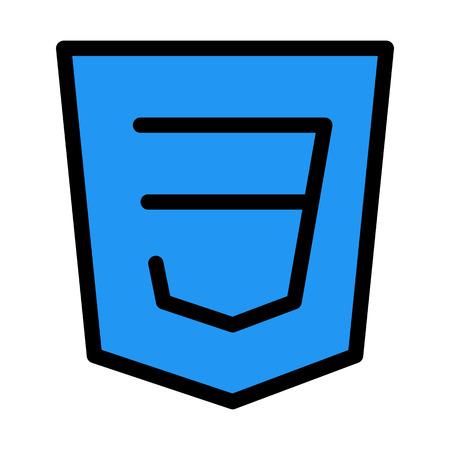 CSS Programing Language Illustration