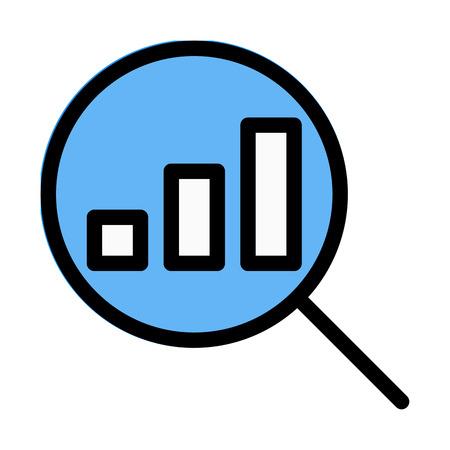 Search Profit Statistic Ilustração