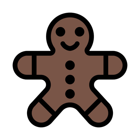 Man Shaped Cookie