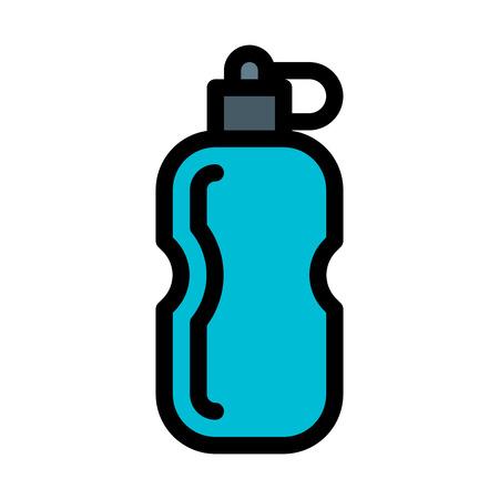 Sports Flask illustration Çizim