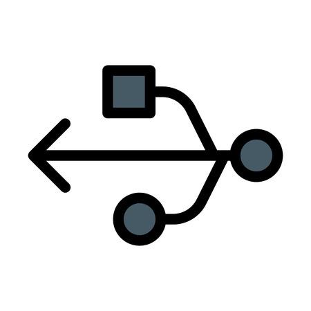 USB Computer Symbol
