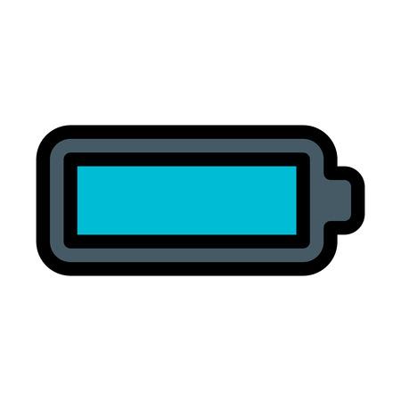 Battery Full Sign Illusztráció