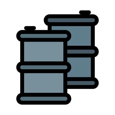 Gas Container or Drum Standard-Bild - 125713405