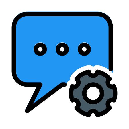 Chat Messenger Settings Çizim