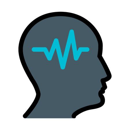 Medical Neurological Department Illustration