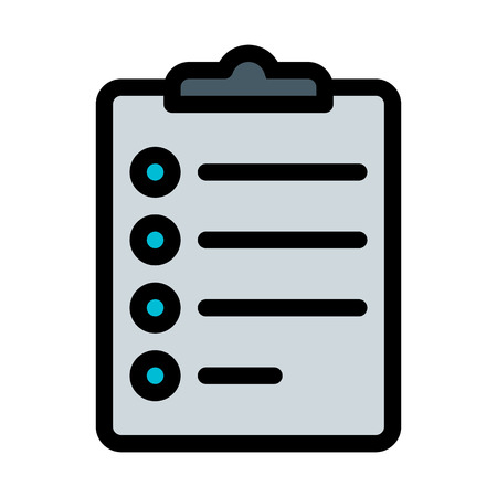 Checklist and Tasks Иллюстрация