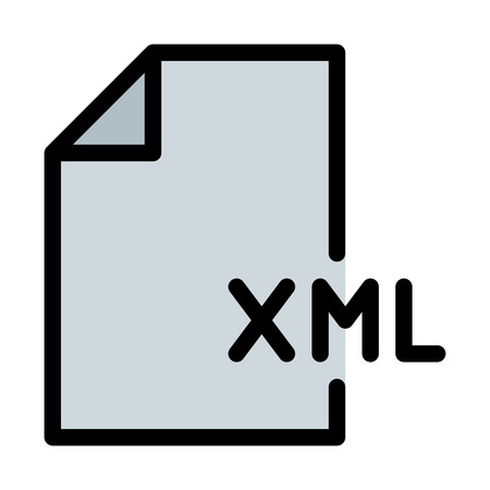 XML Coding File Illustration