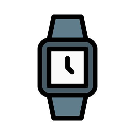 Square Shape Wrist Watch