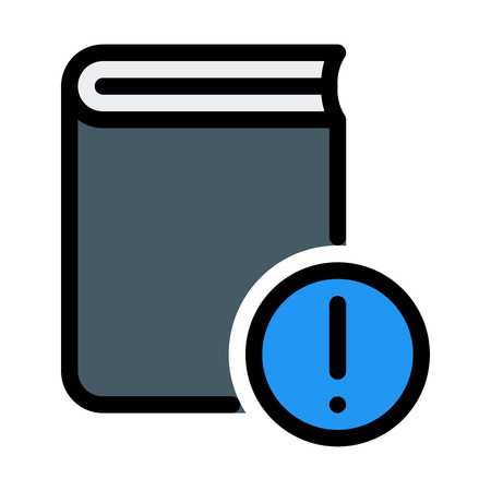 Online Book Notification Illustration
