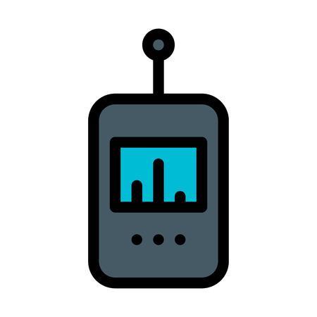 Actinometer Measures Radiation