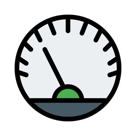 Dashboard Speed Meter 写真素材 - 125720232