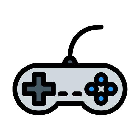 Video Game Controller Ilustração