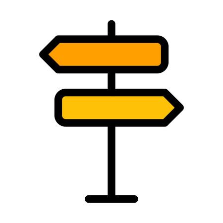 Both ways Signpost 일러스트