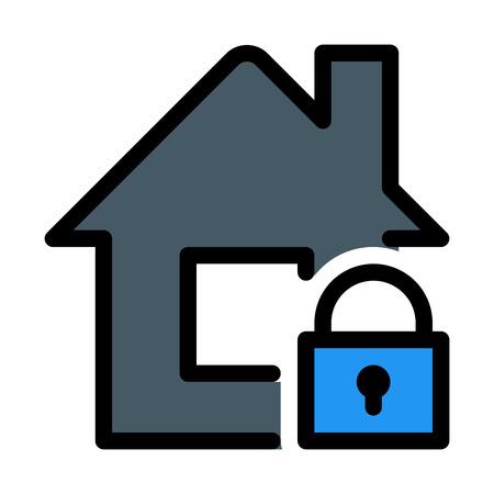 Locked Secure House