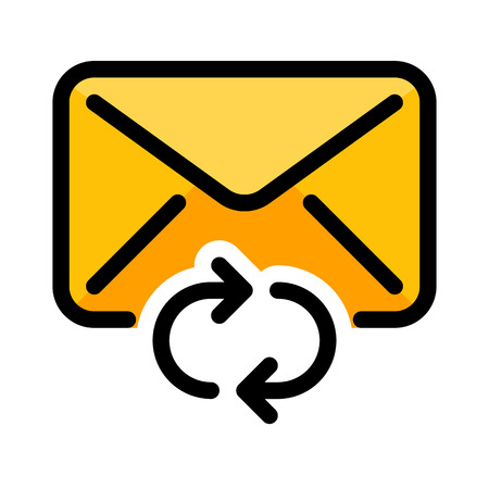 Refresh or Sync Mail Banque d'images - 125720396