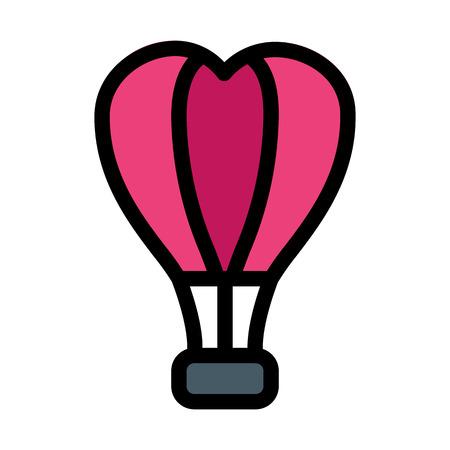 Hot Air Balloon Иллюстрация