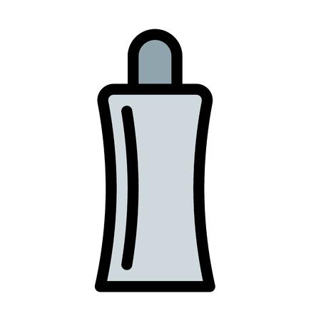 Suntan Oil Bottle