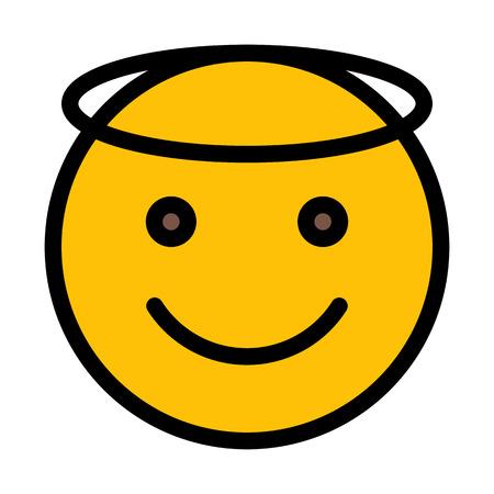 Angel Face Emoji