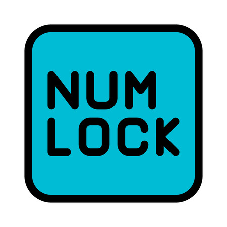Numeric Lock Function Illustration