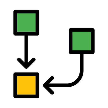 Inverted organization chart