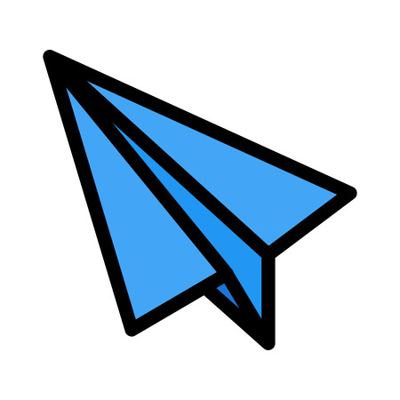 Paper Airplane Toy Banque d'images - 125720622