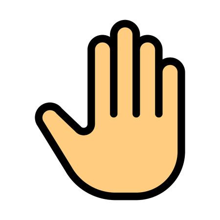 Stop Palm Gesture