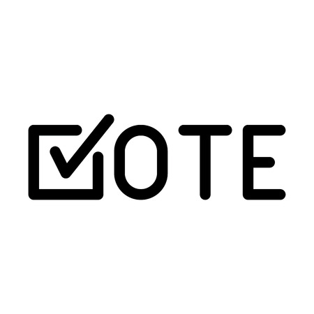 Online Vote Symbol Vettoriali