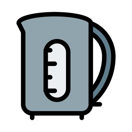 kettle illustration Ilustração
