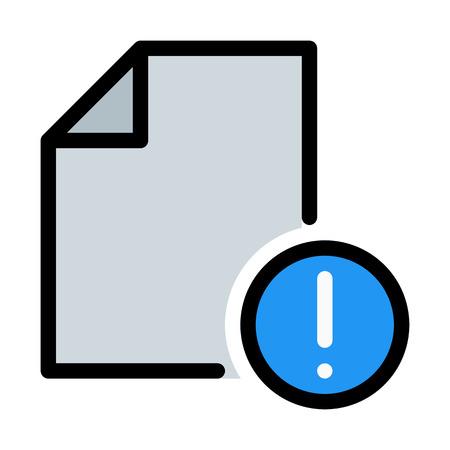 File Error Notification