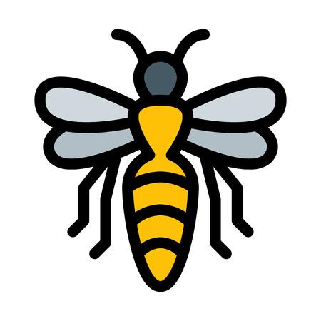 Honey Bee or Hornet Ilustracja