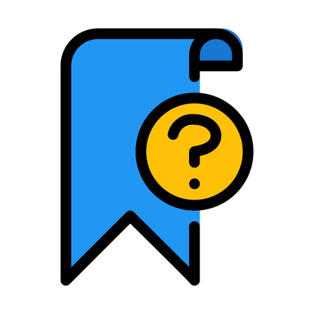 Question Bookmark Symbol