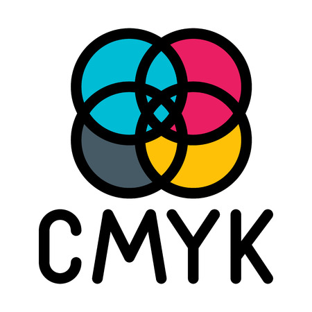 CMYK color model Illustration