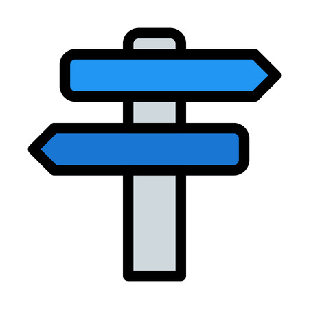 Direction Sign Post